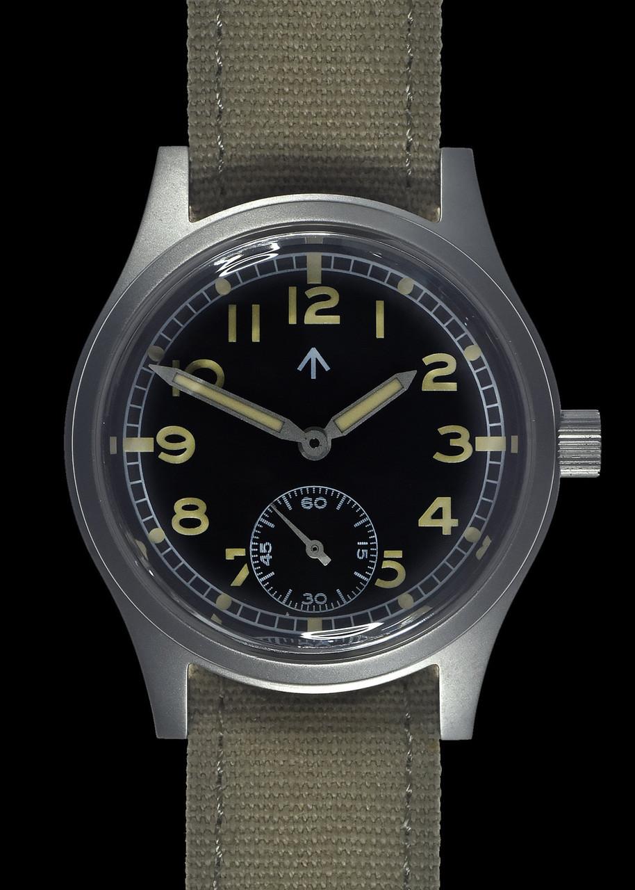 "MWC 1940s/1950s ""Dirty Dozen"" Pattern Watch with Retro Luminous Paint and High Performance Quartz Movement"