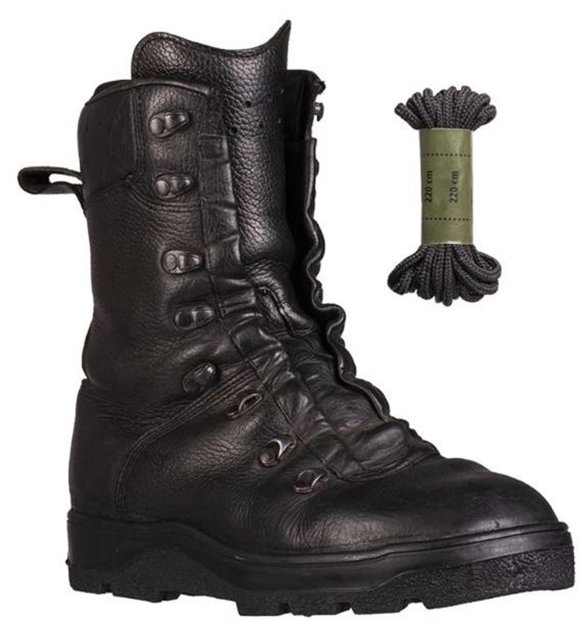 BW DMS Leather Combat Boots - Used