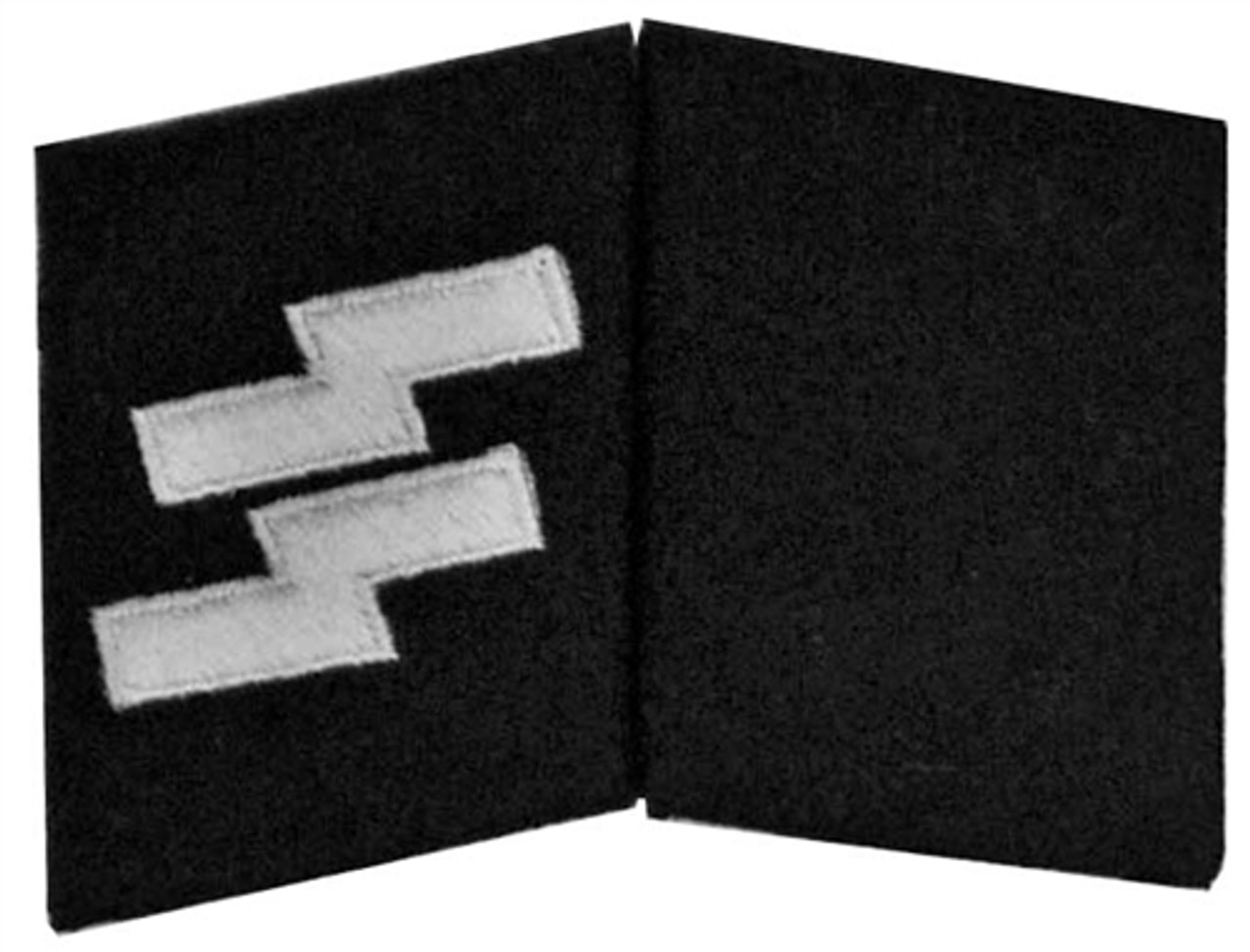 Waffen SS Enlisted Collar Tabs