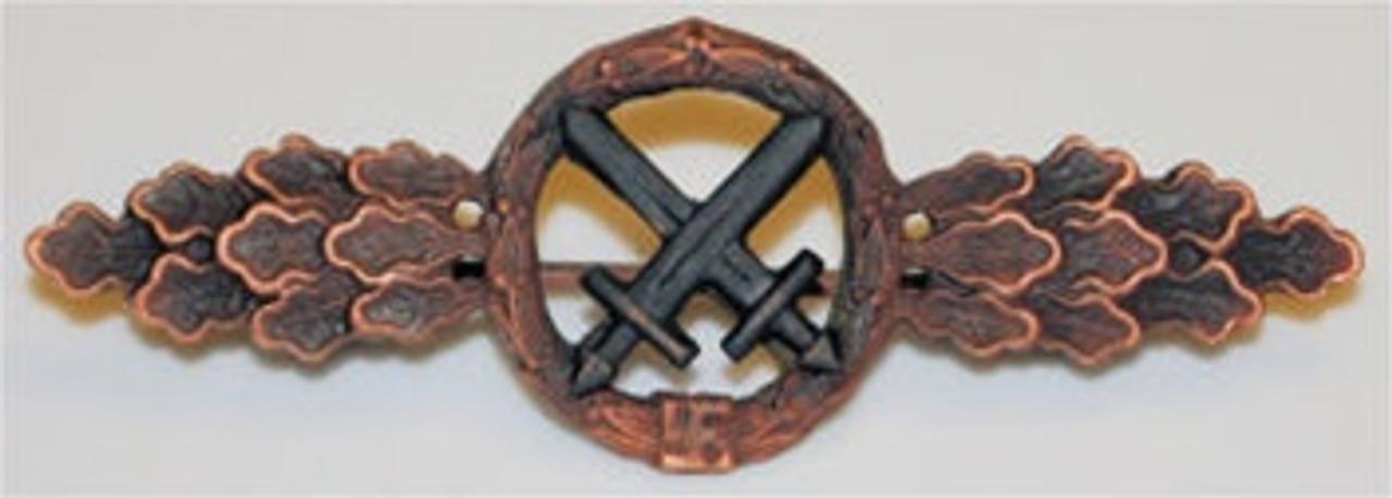 Luftwaffe Air to Ground Clasp - Bronze from Hessen Antique