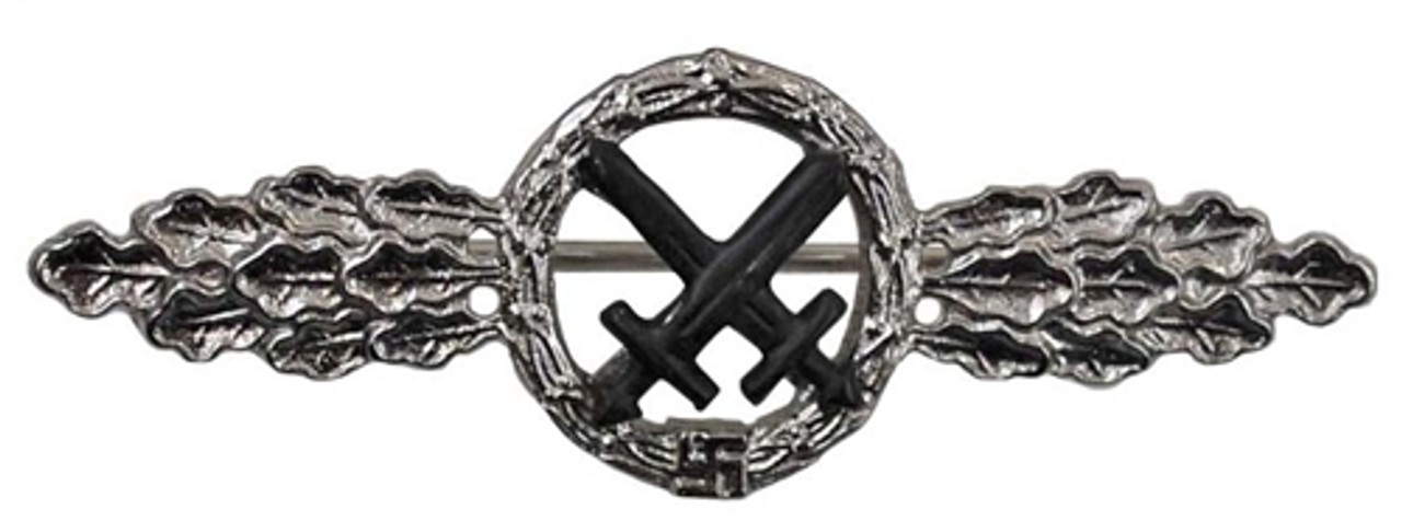Luftwaffe Air to Ground Clasp - Silver from Hessen Antique
