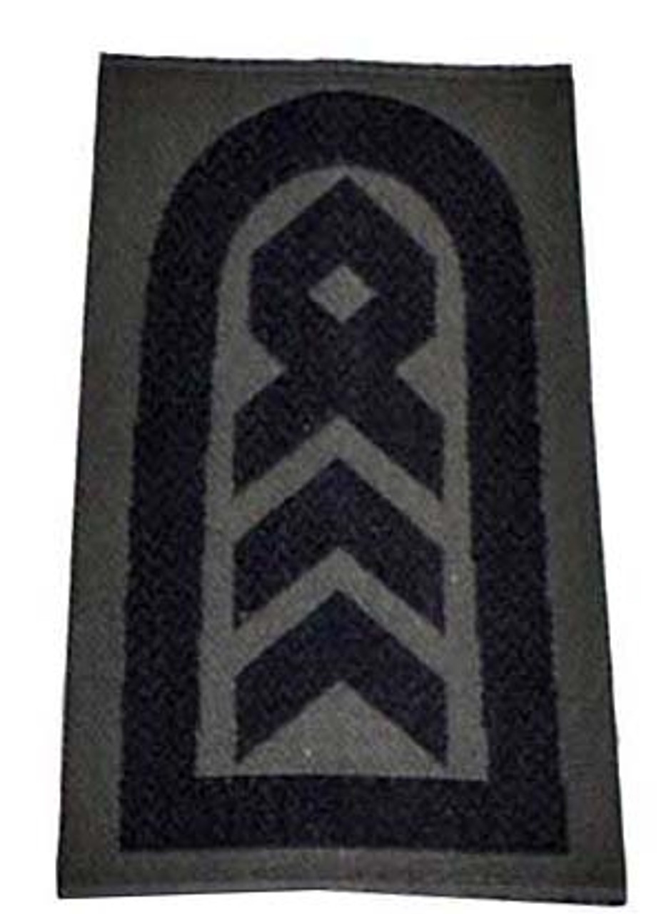 Bundeswehr Steingrauoliv Rank Insignia from Hessen Antique