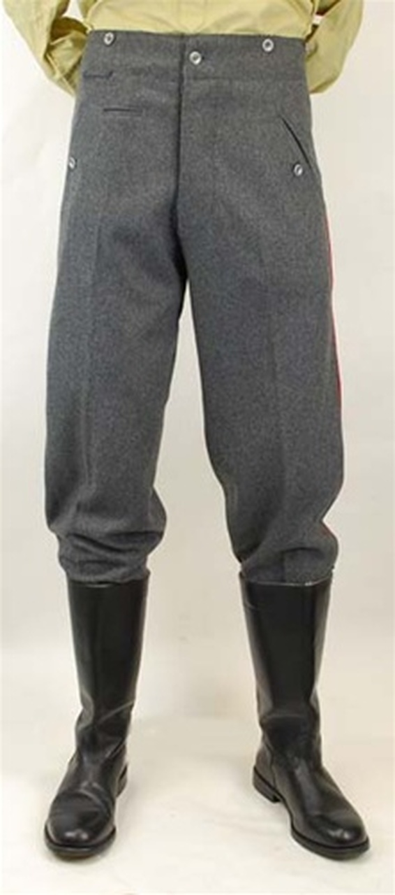 Model 1907/14 Steingrau Feldhosen German Trousers from Hessen Antique