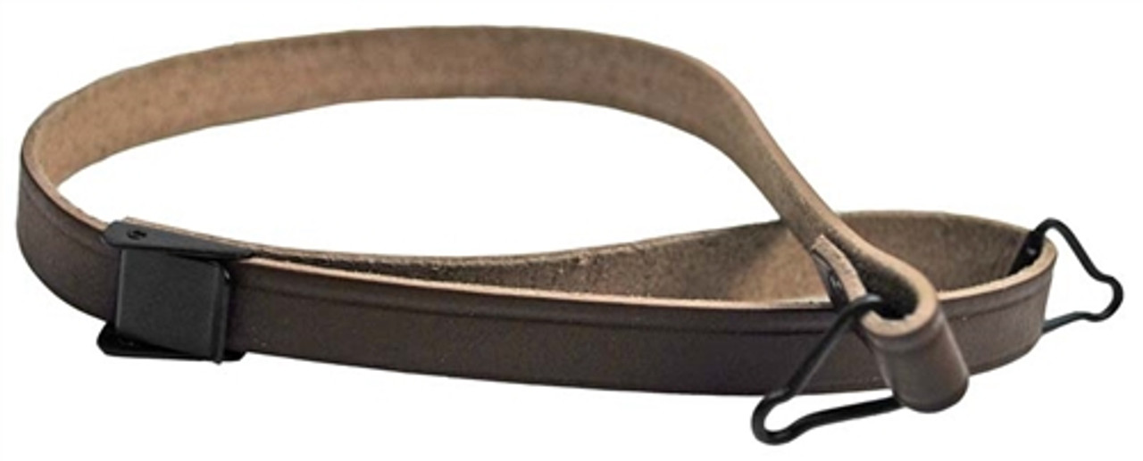 Reproduction M1 Helmet Liner Chinstrap - Leather from Hessen Antique