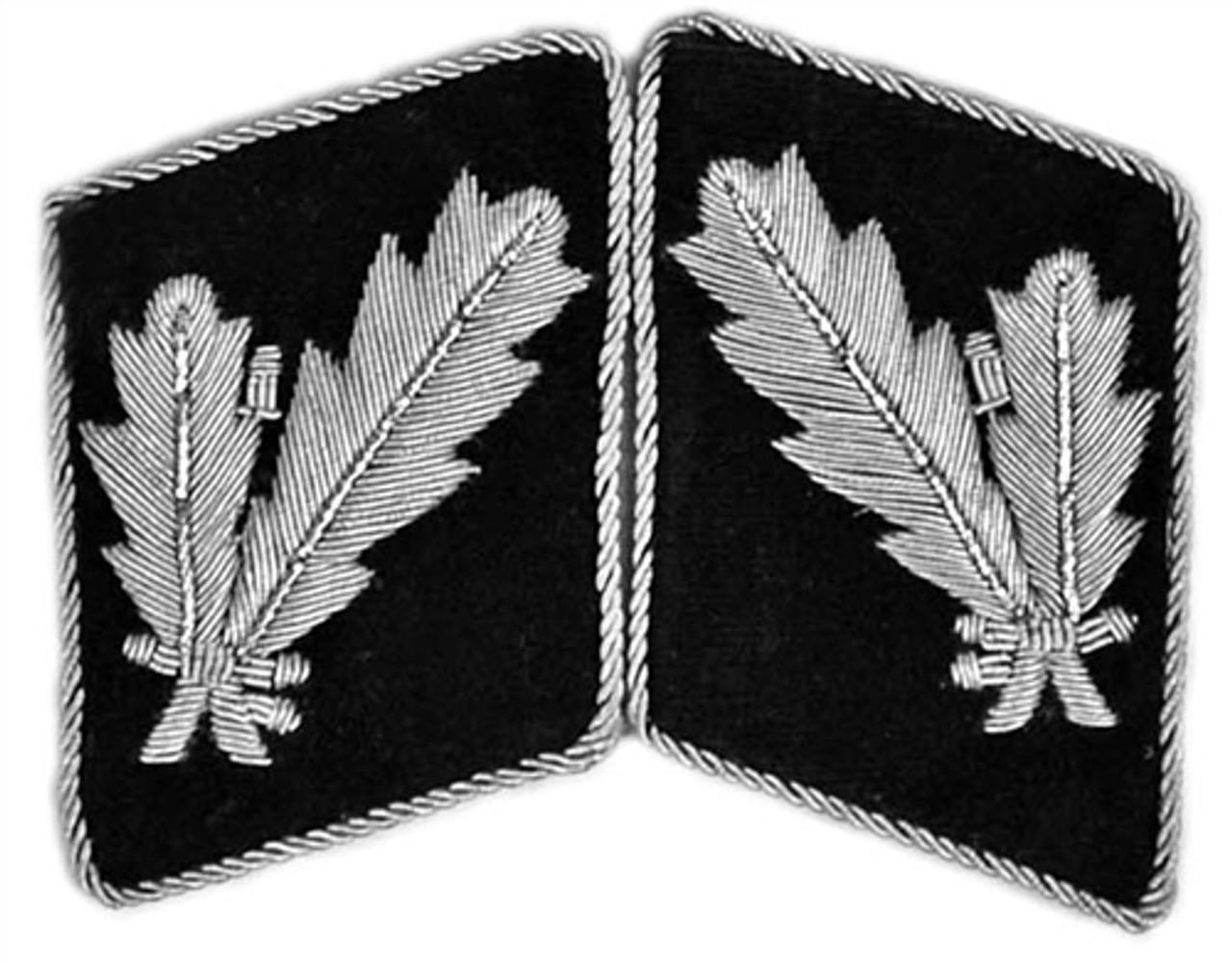 Waffen-SS Officer Collar Tabs