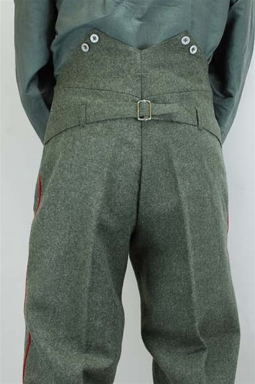 Model 1907/10 Feldgrau Feldhosen German Trousers from Hessen Antique