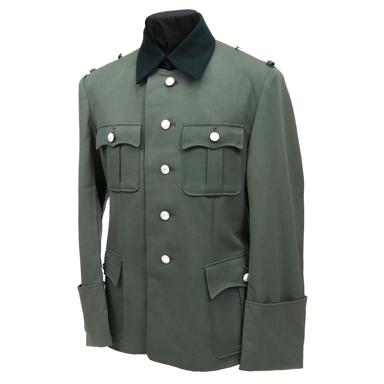 SS German Officer Dress Tunic in Gabardine Twill from Hessen Antique