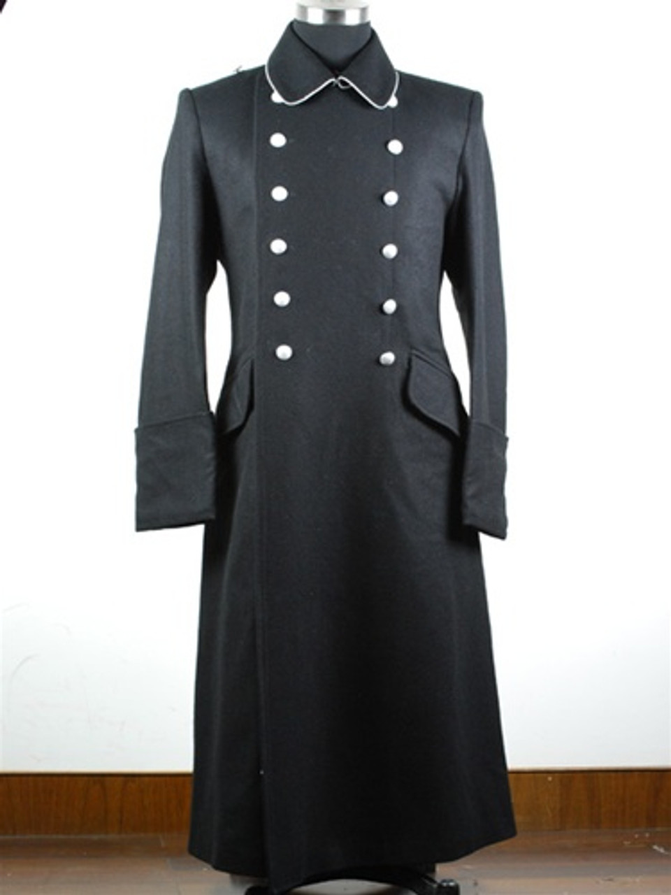 SS M32 Officer Gabardine Greatcoat from Hessen Antique