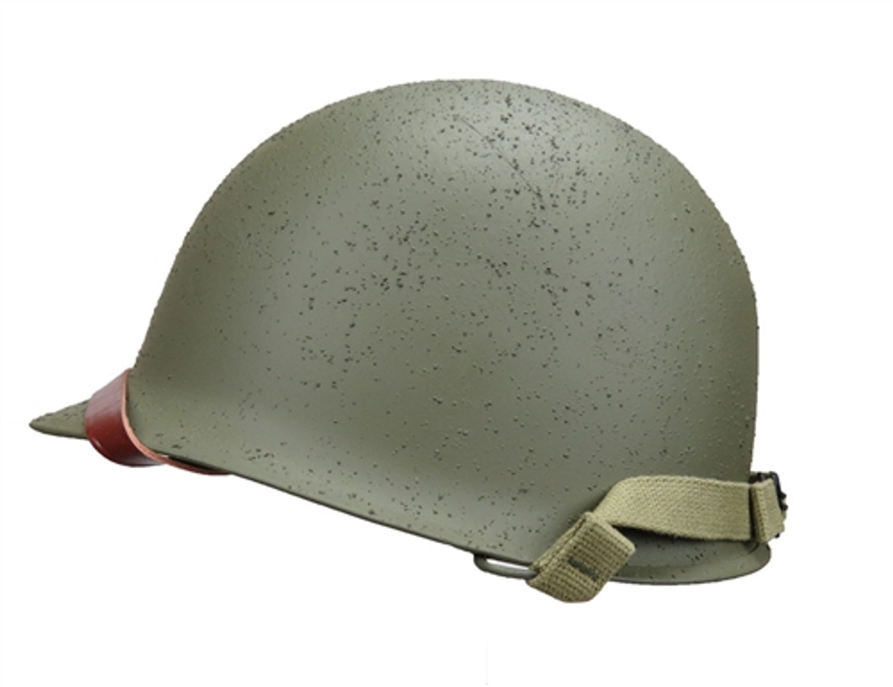 Front Seam M1 Helmet and Liner (WWII GI Shell and Liner) from Hessen Antique