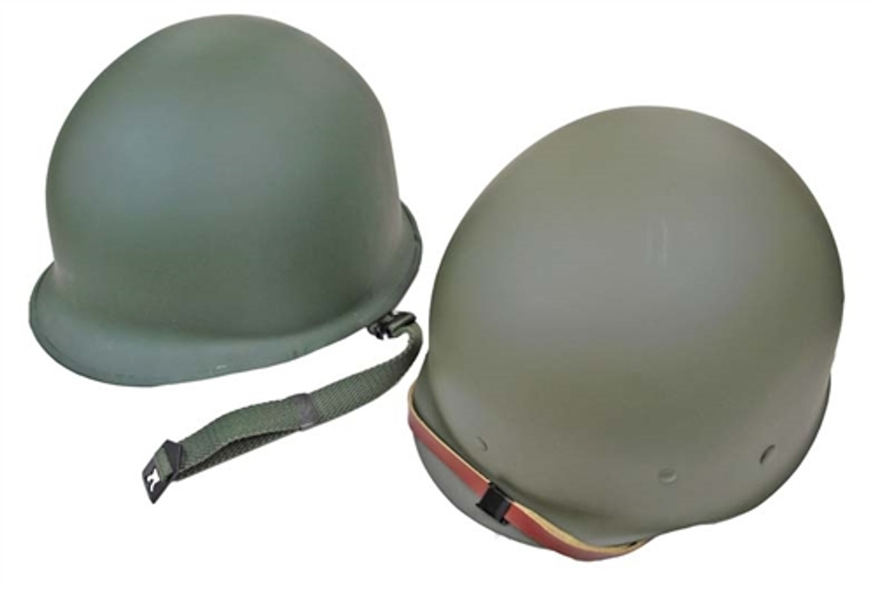 M1 Helmet And Liner - Reproduction from Hessen Antique