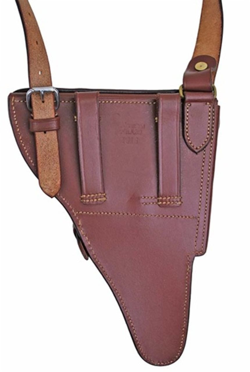 WWI Uhlan Cavalry Holster from Hessen Antique