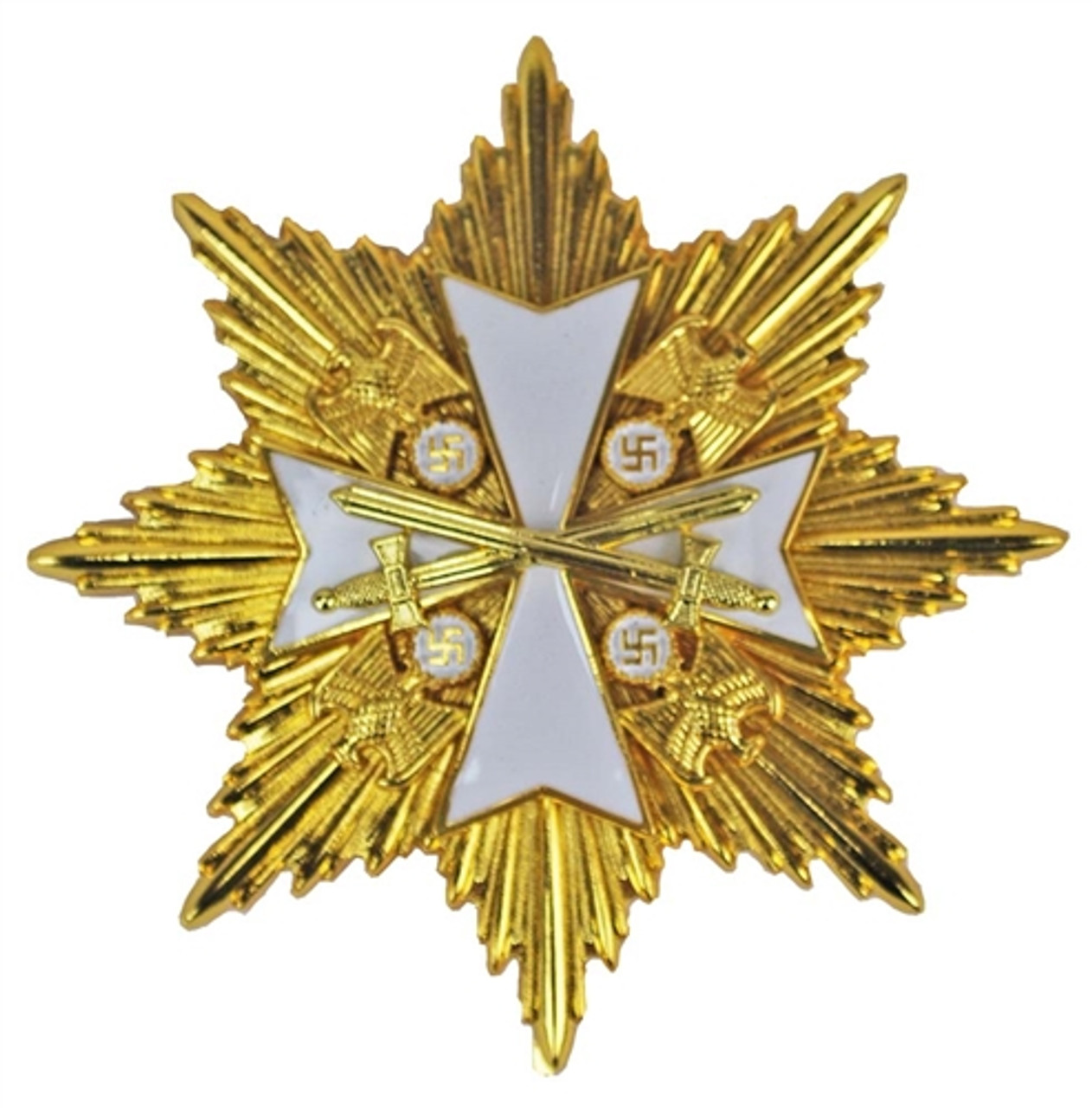 Grand Cross of the Order of the German Eagle in Gold with Star from Hessen Antique
