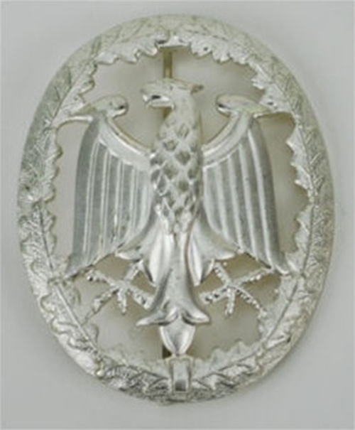 Bundeswehr German Army Leistungsabzeichen - Silver  from Hessen Antique.  Assmann quality