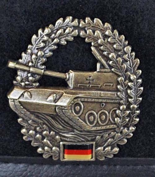 Bundeswehr Bundeswehr Panzer Beret from Hessen Antique