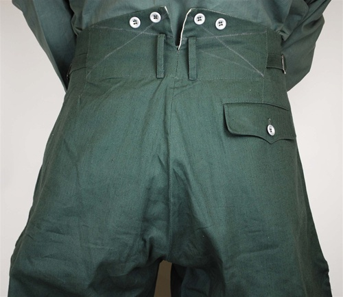 Riding Breeches in Reed-green HBT