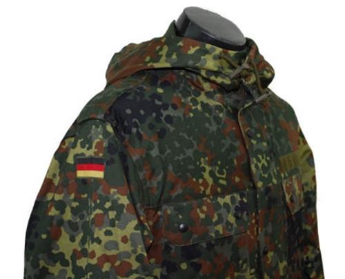 Bundeswehr flecktarn Camo Parka from Hessen Antique