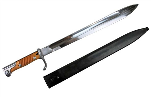 """98 Butcher Blade Bayonet """"in the white"""""""