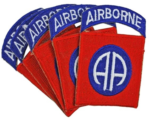 82nd Airborne Division Patch (5X) from Hessen Antique