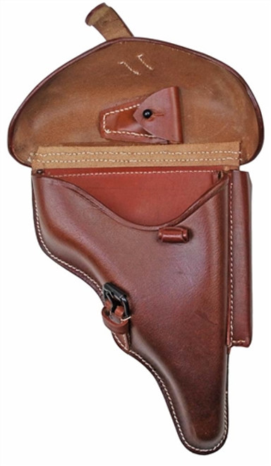 P-08 Brown Leather Holster from Hessen Antique