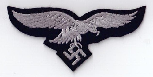 LW Panzer Enlisted Breast Eagle