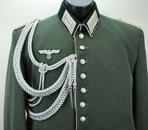 Officer's Dress Aiguillette from Hessen Antique