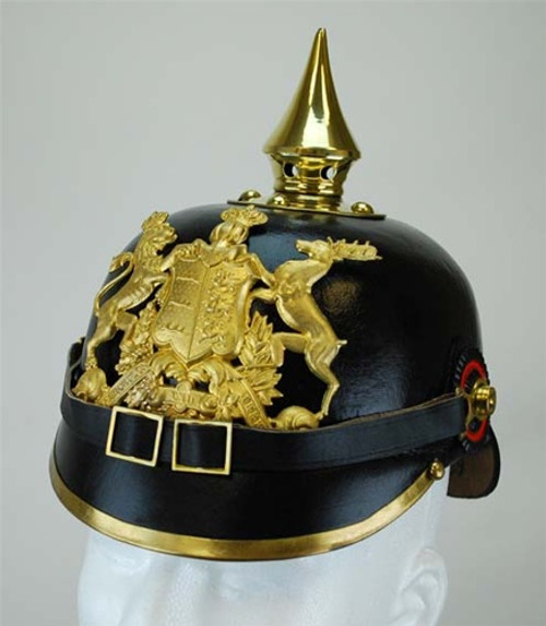 Württemberg Pickelhaube (Spiked Helmet) from Hessen Antique