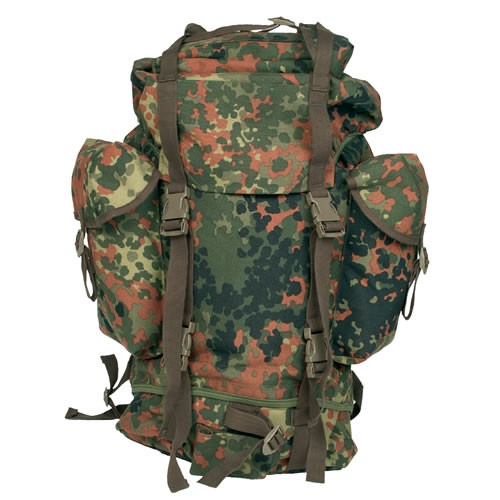 German Flecktarn Large Rucksack -1000D from Hessen Antique