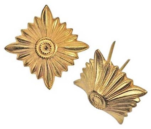 Golden Rank Stars - German Made from Hessen Antique