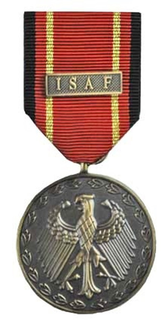 Bw Armed Forces Deployment Medal: ISAF - Bronze from Hessen Antique