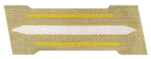 KM Coastal Artillery Enlisted Collar Tabs (Litzen)