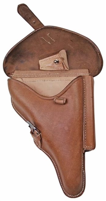 P-08 Natural Leather Holster from Hessen Antique