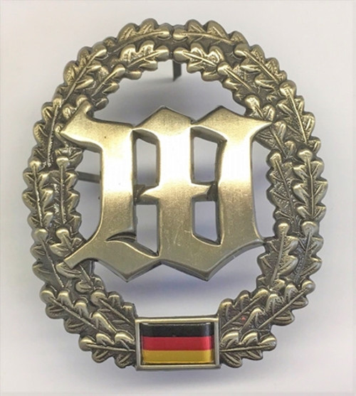 Bw Wachbatalaillon Beret Badge from Hessen Antique from Hessen Antique