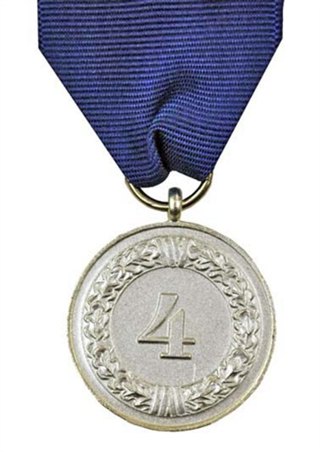 Air Force 4 Year Service Medal With Ribbon & LW Eagle Device from Hessen Antique