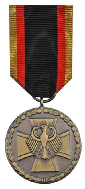 Bundeswehr Medal Of Honor - Bronze from Hessen Antique