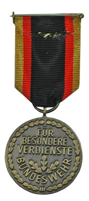 Bundeswehr Medal Of Honor - Bronze from Hessen Antique