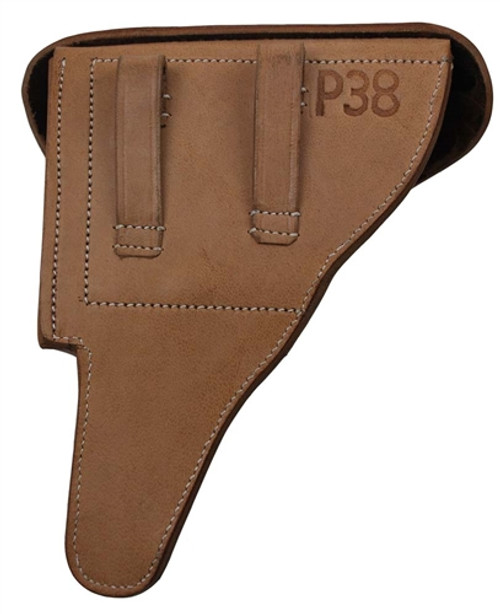 P-38 Hardshell Holster - Natural Leather from Hessen Antique