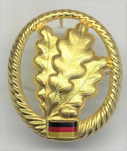 Bw Jägertruppe Beret Badge from Hessen Antique from Hessen Antique