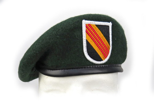 5th SF Group Green Beret from Hessen Antique