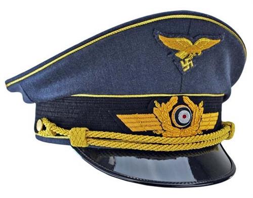 Luftwaffe General Officer Visor Cap from Hessen Antique