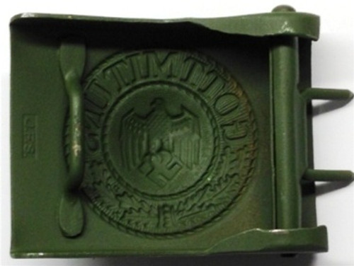 German Army Belt Buckle from Hessen Antique