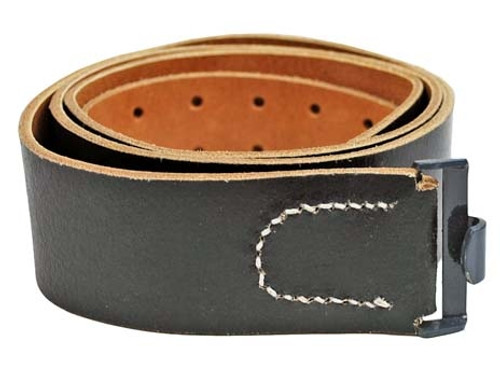 German Leather Equipment Belt from Hessen Antique
