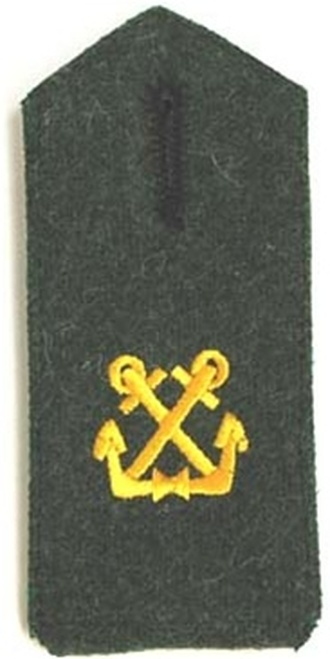KM Marine Artillery Shoulder Boards