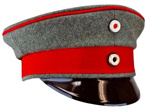 Imperial German Officer Visor Cap from Hessen Antique