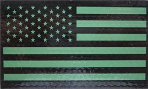 IR Forward Green American Flag Insignia from Hessen Antique