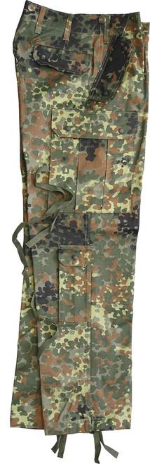 Bw Commando Field Trousers - Flecktarn from Hessen Antique