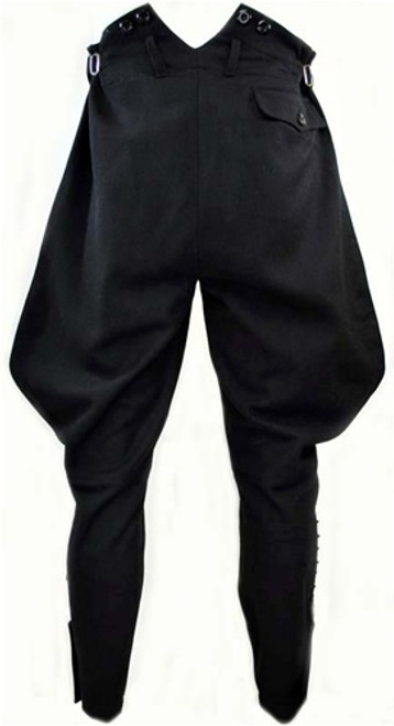 SS M32 Black Wool Breeches from Hessen Antique