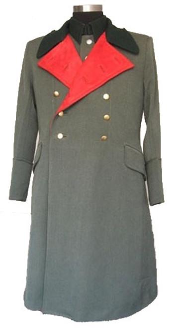 WH General Officer Gabardine Greatcoat from Hessen Antique