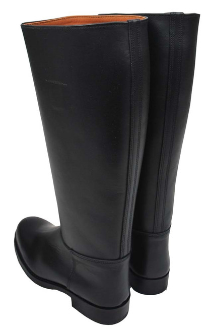 Riding Boots: Size 6 (39) With Non-Skid Soles & Rear Zipper from Hessen Antique