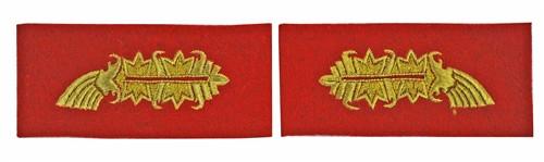 M15 Prussian General Officer Collar Tabs (Kragenspiegel)
