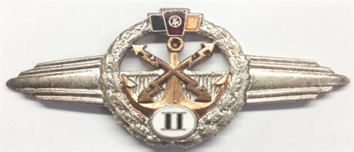 Classification Clasp for Radio and Telegraph Operators from Hessen Antique